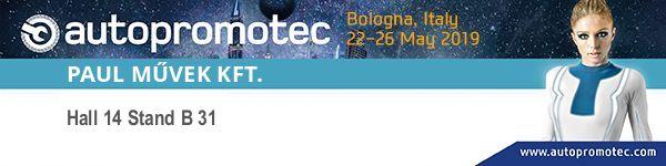 Ott leszünk az Autopromotec  kiállításon Bolognában!